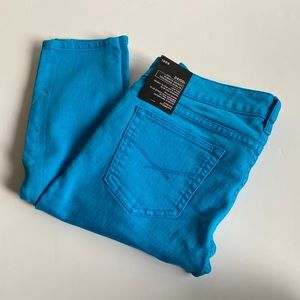 Gap 1969 Electric Blue Skinny Jeans